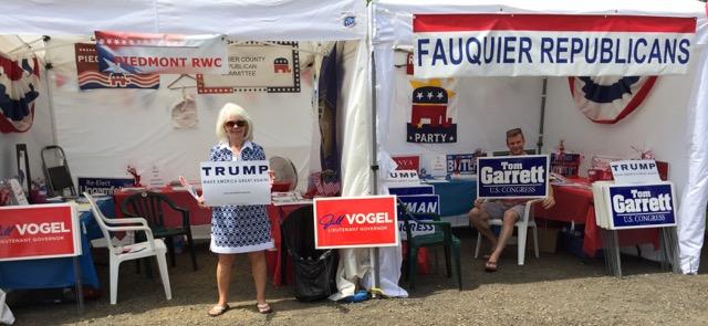 2016 County Fair booth 1